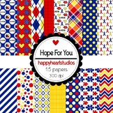 Digital Papers Hope For You (Autism Awareness)