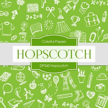 Digital Papers - Hopscotch (DP260)