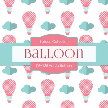 Digital Papers - Hot Air Balloon (DP4938)