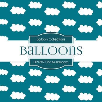 Digital Papers - Hot Air Balloons (DP1307)