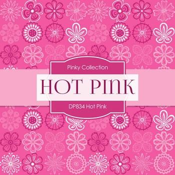 Digital Papers - Hot Pink (DP834)