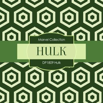 Digital Papers - Hulk (DP1809)
