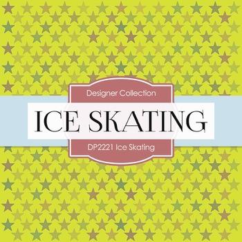 Digital Papers - Ice Skating (DP2221)