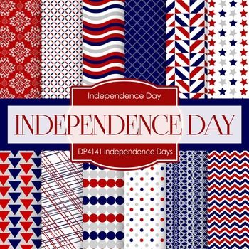 Digital Papers - Independence Days (DP4141)