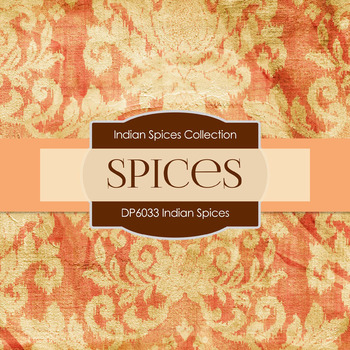 Digital Papers - Indian Spices (DP6033)