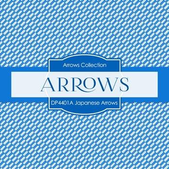 Digital Papers - Japanese Arrows (DP4401A)