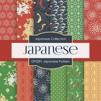 Digital Papers - Japanese Pattern (DP3291)