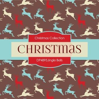 Digital Papers - Jingle Bells (DP4895)