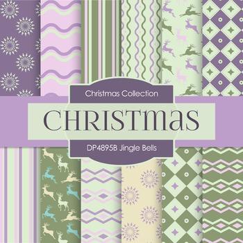 Digital Papers - Jingle Bells (DP4895B)