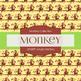 Digital Papers - Jungle Monkey (DP6809)