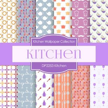 Digital Papers - Kitchen (DP2253)