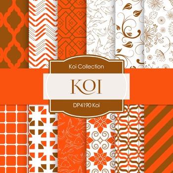 Digital Papers - Koi (DP4190)