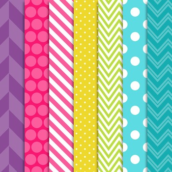 Digital Papers Kristy Jumbo Paper Set
