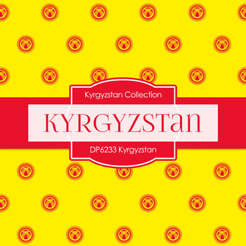 Digital Papers - Kyrgyzstan (DP6233)