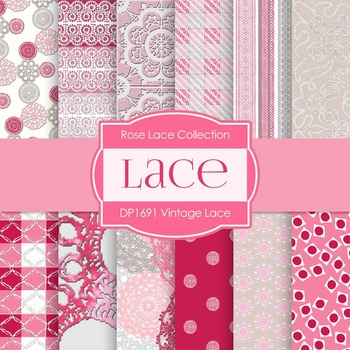 Digital Papers - Lace (DP1691)