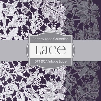 Digital Papers - Lace (DP1692)