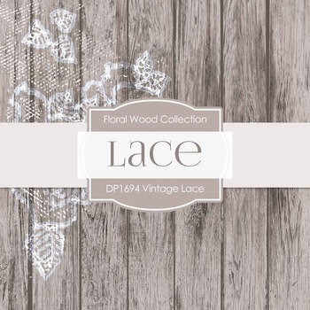 Digital Papers - Lace (DP1694)