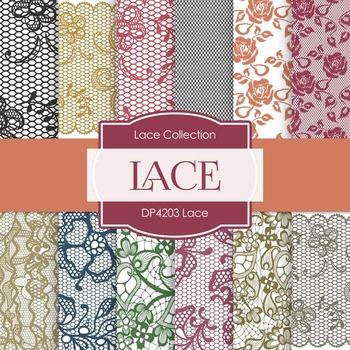 Digital Papers - Lace (DP4203)