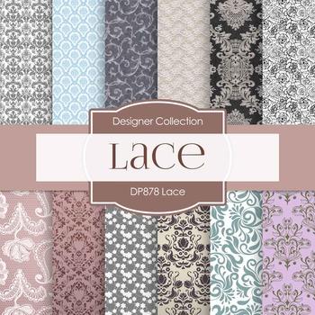 Digital Papers - Lace (DP878)