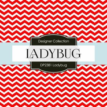 Digital Papers - Ladybug (DP2381)