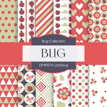 Digital Papers - Ladybug (DP4957A)