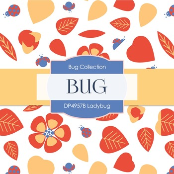 Digital Papers - Ladybug (DP4957B)