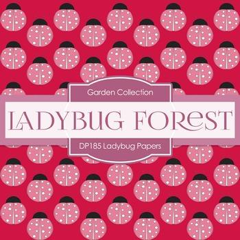 Digital Papers - Ladybug Papers (DP185)