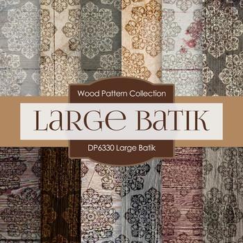 Digital Papers - Large Batik (DP6330)