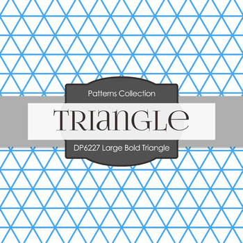 Digital Papers - Large Bold Triangle (DP6227)