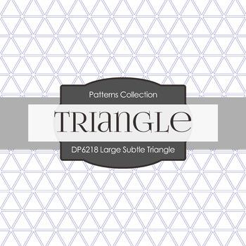 Digital Papers - Large Subtle Triangle (DP6218)