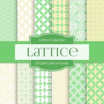 Digital Papers - Lattice Panels (DP2296)