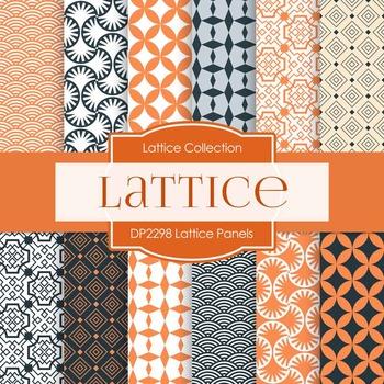 Digital Papers - Lattice Panels (DP2298)