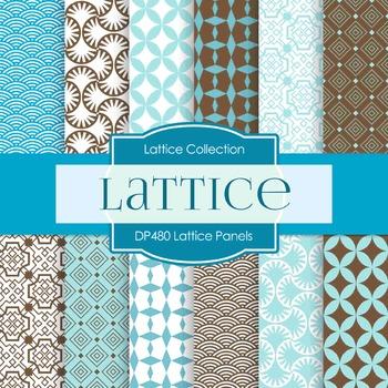 Digital Papers - Lattice Panels (DP480)