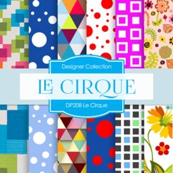 Digital Papers - Le Cirque (DP208)