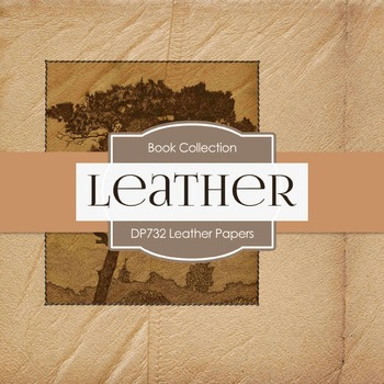 Digital Papers - Leather Papers (DP732)