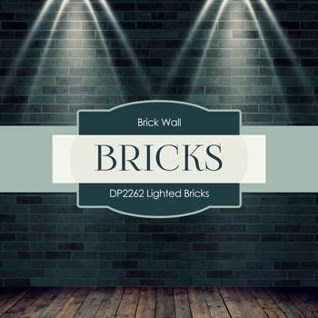Digital Papers - Lighted Bricks (DP2262)