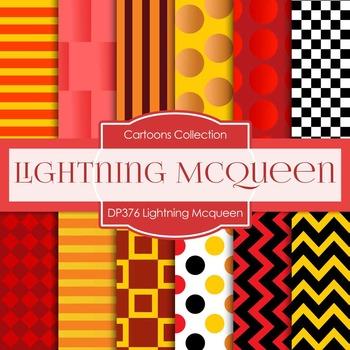 Digital Papers - Lightning Mcqueen (DP376)