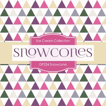 Digital Papers - Snowcone (DP234)