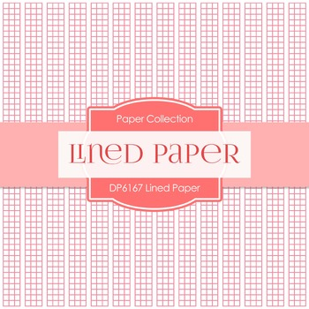 Digital Papers - Lined Paper (DP6167)