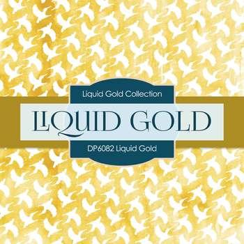 Digital Papers - Liquid Gold (DP6082)