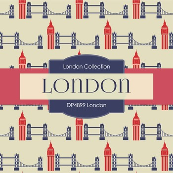 Digital Papers - London (DP4899)