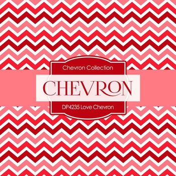 Digital Papers - Love Chevron (DP4235)