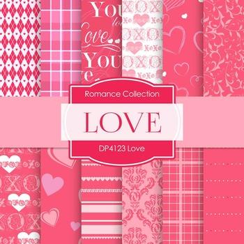 Digital Papers - Love (DP4123)