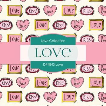 Digital Papers - Love (DP4843)