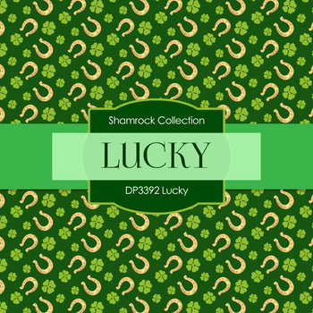 Digital Papers - Lucky (DP3392)