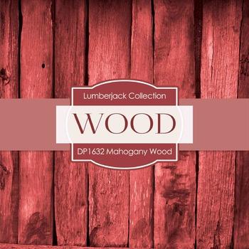 Digital Papers - Mahogany Wood (DP1632)