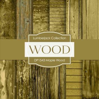 Digital Papers - Maple Wood (DP1543)