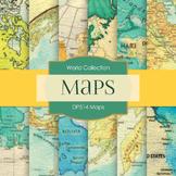 Digital Papers - Maps (DP514)