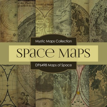 Digital Papers - Maps of Space (DP6498)