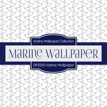 Digital Papers - Marine Wallpaper (DP2255)